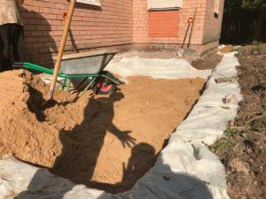 Песок под отмостку Десеновское поселение
